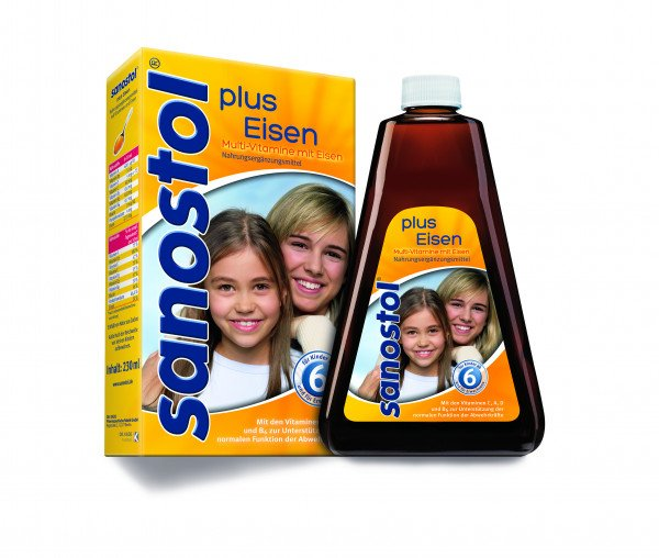 Sanostol plus Eisen 230 ml